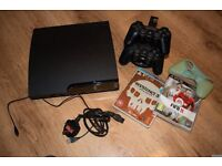 PS3 CONSOLE with 2 games