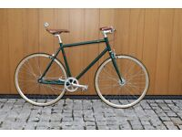 Special Offer !!! Steel Frame Single speed road TRACK bike fixed gear racing fixie bicycle fqa