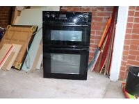 AEG 52081B Built in Double Oven with Tray and Grills