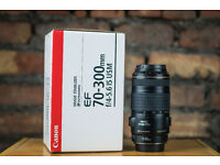 Canon 70-300mm F4.5-5.6 IS USM
