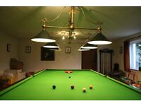 Burroughes and watts full size snooktable Please ring for further details.