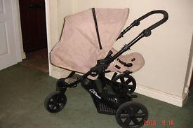 britax b-smart pushchair suitable from birth