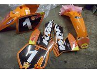 KTM 65 2007 PLASTI CS BRAND NEW