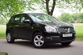 NISSAN QASHQAI ACENTA DCI 1.5 DIESEL*3 MONTHS WARRANTY*BLUETOOTH*CRUISE*2 KEYS*NEW MOT*JUST SERVICED