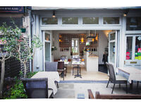 Barman/person needed for small neighbourhood restaurant, good hours & good pay