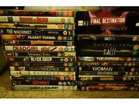 70 + DVD bundle, horror, comedy, foreign, box sets...