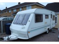 Caravan ABI 4 berth with awning excellent condition inside and out