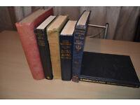 Vintage old WWII books