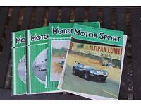 Motor Sport magazines