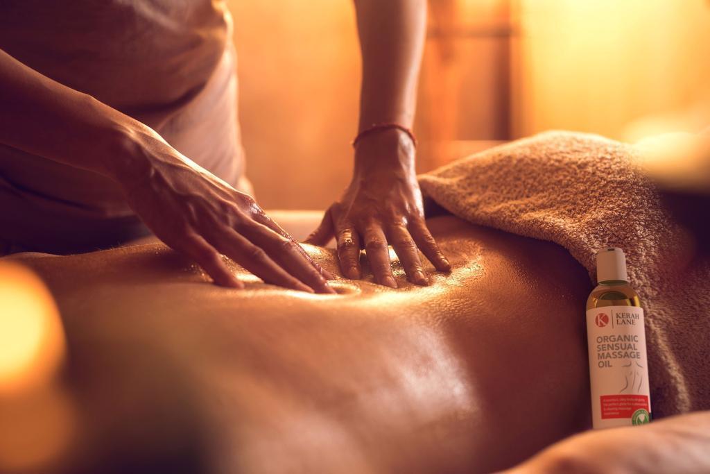sensual full body oil massage