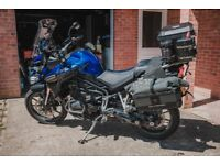 2012 Triumph Explorer 1200cc with lots of extras