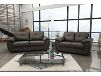 **50% REDUCTION ON THESE GENUINE LEATHER SOFA SETS* CAPRI SOFA RANGE : UK WIDE DELIVERY**
