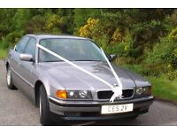 1996 BMW 728 Aspen Silver with Black Leather Superb Car owned since 2002