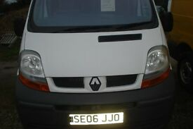 renault trafic dci-100 high top 2006-06 reg SALE NOW ON-NEW BUSINESS