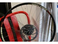 Sun Ringle / Shimano 26 inch rear wheel