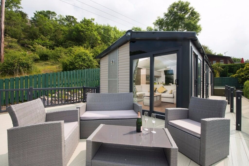 Reduced swift alsace lodge static caravan for sale for Grand mobil home neuf 4 chambres