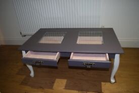 REDUCED! GREY COFFEE TABLE