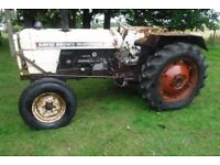 DAVID BROWN 880 ALL WORKING CHEAP TRACTOR CAN DELIVER SEE VIDEO TRADE SALE BARGAIN