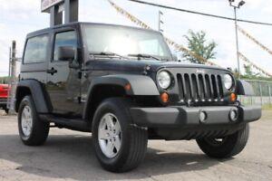 2011 Jeep Wrangler Sport/MANUELLE/CRUISE/TOIT BIMINI/TOIT DUR