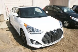 2016 Hyundai Veloster TURBO, LEATHER, NAV, S/ROOF, AUTO