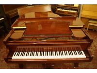 New mahogany baby grand piano. Free uk delivery! Video demo!
