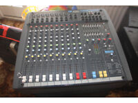 Soundcraft Power Station Mixing desk & Speakers