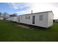 Static caravan for sale with 2017 site fees already paid!!!