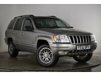 2002 Jeep Grand Cherokee Limited CRD Diesel 4x4 4wd 152k Tow Bar Full Electric inc Heated Seats