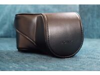 Sony genuine leather case for NEX camera LCS-EJA as new