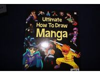 """Ultimate how to draw Manga"" Japanese style comic drawing book"