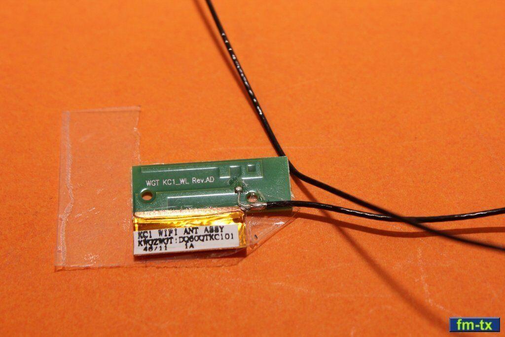 Wi-fi - wi-fi antenne avec câble coaxial pour amazon kindle fire - 7
