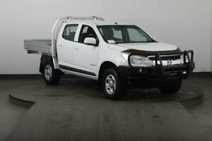 2015 Holden Colorado RG MY15 LS (4x2) White 6 Speed Manual Cab Chassis