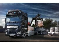 Drawbar drivers required for brick crane deliveries