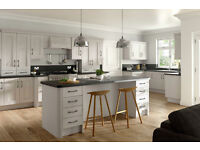 New, Modern Shaker Kitchens with kitchen units, soft close doors and Worktop, Glasgow.