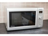 Panasonic NN-SD269M Microwave, 22 litres, 850W, Silver (works but has small fault)