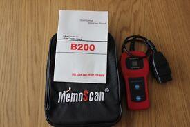 MemoScan B220 Code Reader Scanner