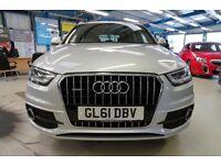 Audi Q3 TDI QUATTRO S LINE [1 OWNER / XENONS / PARK ASSIST] (brilliant silver metallic) 2012