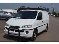 LEFT HAND DRIVE HYUNDAI H200, DRIVES VERY WELL,ENGINE&MECHANICS GREAT,BIG LOAD SPACE.CALL MARC