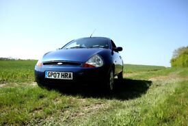 FORD KA 2007 ONE YEAR MOT NO ADVISORIES