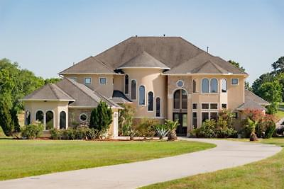 Mediterranean Custom Waterfront Estate  Clean Title  Ready To Move In