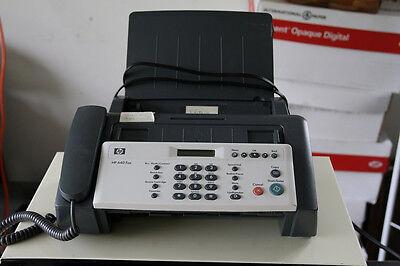Hp Fax 640 Monochrome Inkjet Fax Copier