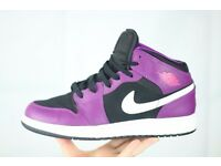Like New - Limited Edition Nike Air Jordan Size 5 Womens Girls High Top Trainers UPDATE: £50 SALE