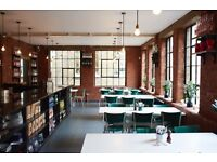 Waiting Staff and Sales Assistants - J+A Cafe, Clerkenwell and Old Street