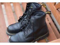 Dr. Martens Black Safety Boot S