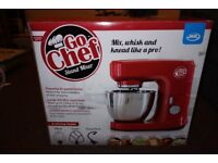 NEW BOXED JML Go Chef Stand Mixer - Never been used