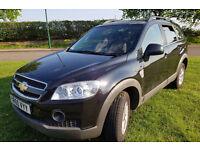 2010 (60reg)SUV Chevrolet Captiva 2.4 LS 51,700 miles Manual,134 bhp Petrol