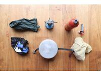 MSR Whisperlite International, Tangia Pots, Fuel Bottle, Gas Burner As a Set or In Parts