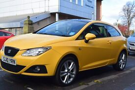 VERY RARE, VERY WELL LOOKED AFTER, SEAT IBIZA, SPORT, 1.4 PETROL, YELLOW WITH SUNROOF