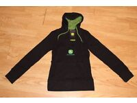 Licensed John Deere Ladies Hooded Sweatshirt Small