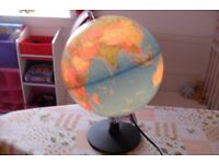 Kids Light Up World Globe